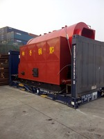 DZL horizontal coal fired hot water boiler for industrial