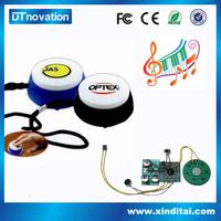 Sound recording device mini module hand press music box