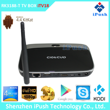 Android 4.2.2 quad core tv magic box full hd 1080p media player Skype Live Chat