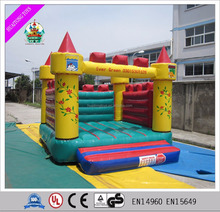 Outdoor safe colorful inflatable minions bouncer castle air bouncer inflatable trampoline for kids