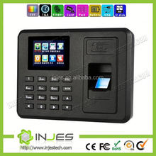 Alibaba Distributor Fngerprint Employee Self Service TFT Screen USB automated badge time clock systems