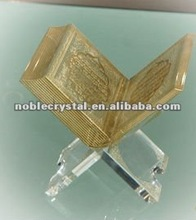 Crystal Holy Quran As Islamic Muslim Arab Crystal Wedding Gifts