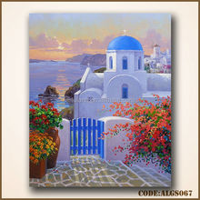 Beautiful Greece oil painting