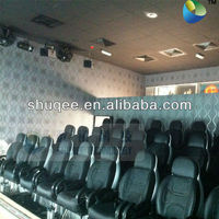 Motion control system 5D motion chair cinema theater seat 4D movie cinema seating