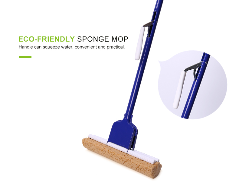 Dolanx durable quality sponge china factory floor cleaning mop,made in china mop