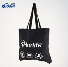 Wholesale natural color custom cotton shopping tote bags