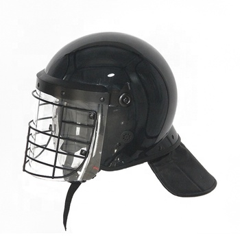 High quality police anti riot helmet safety helmet with grid