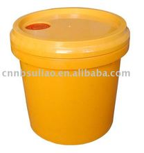 orange large capacity plastic barrel