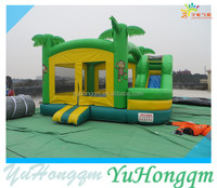 2015 best sale inflatable forest bouncy castle ,monkey bounce hosue for kids toy