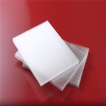 Makrolon polycarbonate sheets& 2017 Pc hollow sheet twin-wall pc panel honeycomb sheets