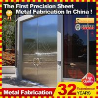 2014 new professional customized Metal Fabrication Punching aluminum alloy blade metal frame bumper case