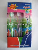 Transparent Toothbrush/Oral Care Products/Hot Selling Toothbrush