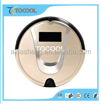 Hot sale high scution power cordless auto charge cleaner robot vacuum TC-750