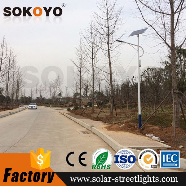 Chinese manufacturer CE ROHS certified outdoor 12 volt 60w solar led street light