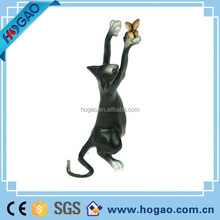 Wholesale resin handmade cat for home decorations