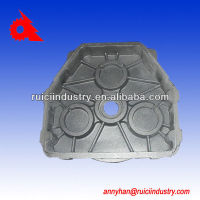 gg50 gear box housing of density grey cast iron three legged
