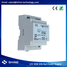 CE RoHS approved 30W 12V 2.5a ac dc Din Rail power supply shenzhen facotry