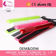 Portable Mini Hair Straightener Colorful Choice Accept Personnal Package and Design Private Label Hair Straightener