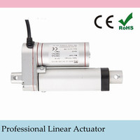 Low Noise Electric Linear Actuator 12v DC Motor 200mm Stroke Linear Motion Controller 8mm/s