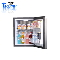 no noise glass door thermoelectric bar fridge without compressor
