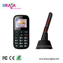 "SOS butoon home use Senior Phone 1.77"" 2G suitable for elder people"
