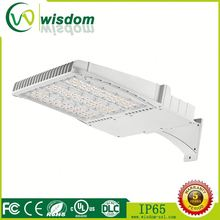 auto dealer shoebox LED 50000H lifespan outdoor UL DLC industrial commercial 70w led street light