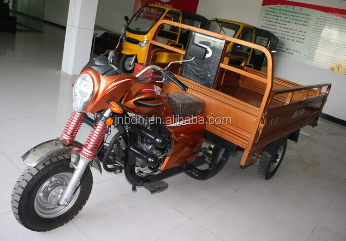 three wheel cargo motorcycles with roof made in China