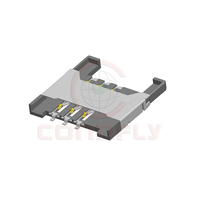 2.54mm Height 1.8mm 6 Positions Mini SIM Card