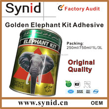 Elephant kit, contact glue for shoes, neoprene adhesive