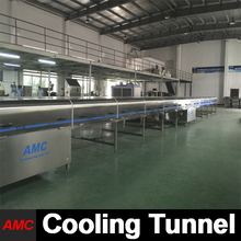 Customize easy operation lindt chocolates cooling tunnel