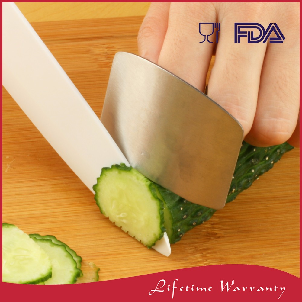 High quality stainless steel chopping finger guard for cutting viegetables