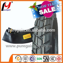 butyl inner tube electric bicycle inner tube / motorcycle tire 16x2.125