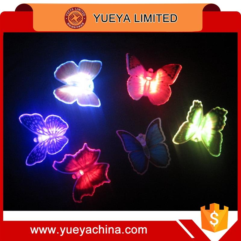 Fiber Optic LED Butterfly Light For Festival Decoration