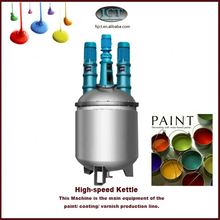 real gold paint production machinery