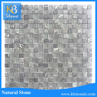 2015 Mixture Glass Mosaic Tiles for Swimming Pool and Bathroom