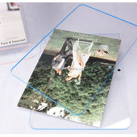 acrylic photo frame display stand
