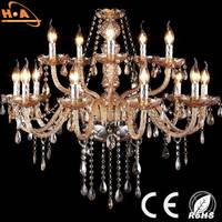 Modern 8 Lights K9 Crystal Candle Lighting Contemporary Chandeliers
