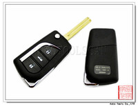 Flip remote key shell For Toyota 3 button Toy48 AS007032
