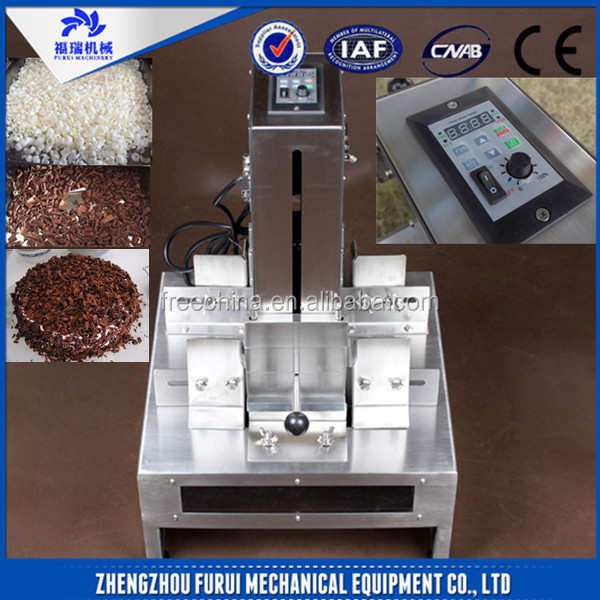 Cheap price chocolate chip slicing machine chocolate flakes making machine
