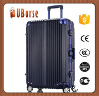 2016 Newest ABS + PC travel trolley luggage with aluminum alloy frame