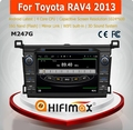 HIFIMAX Android 4.4.4 Toyota RAV4 car stereo with gps navigation mp3 radio cd player car dvd player for toyota corolla verso