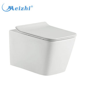 Cheap india sanitary ware toilet bowl price with soft close seat cover