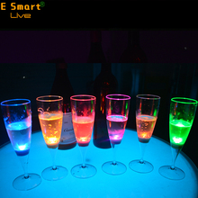 LED Light-Up Flashing plastic cups /plastic whiskey cups