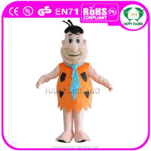 HI CE Hot Sale custom ape human body mascot costume for adult