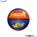streetk brand wholesale size 7 basketball High quality rubber basketball