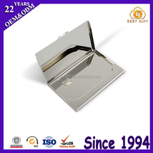 Fashion Stainless Steel Metal Blank Bussiness Card Case