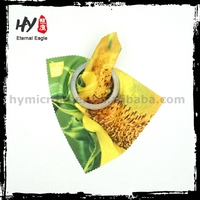 New design microfiber mini portable eyeglass cleaner wipe,computer wiper cloth,clean cup cloth