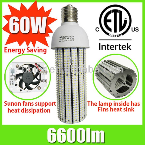 Bbier good dissipation for light heat easy out LED maize lamps e40 60w