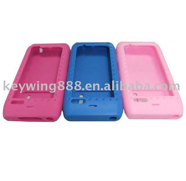 Hot sales shockproof silicone case for nokia n8