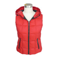 New Style Factory Directly Provide Warm Red Jacket Vest